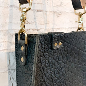 kennedy small crossbody | black bison