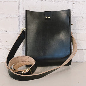 kennedy crossbody | small black