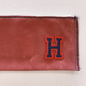 mitchell pouch | red w/ varsity letter