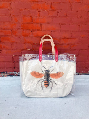 bradley tote | save the bee