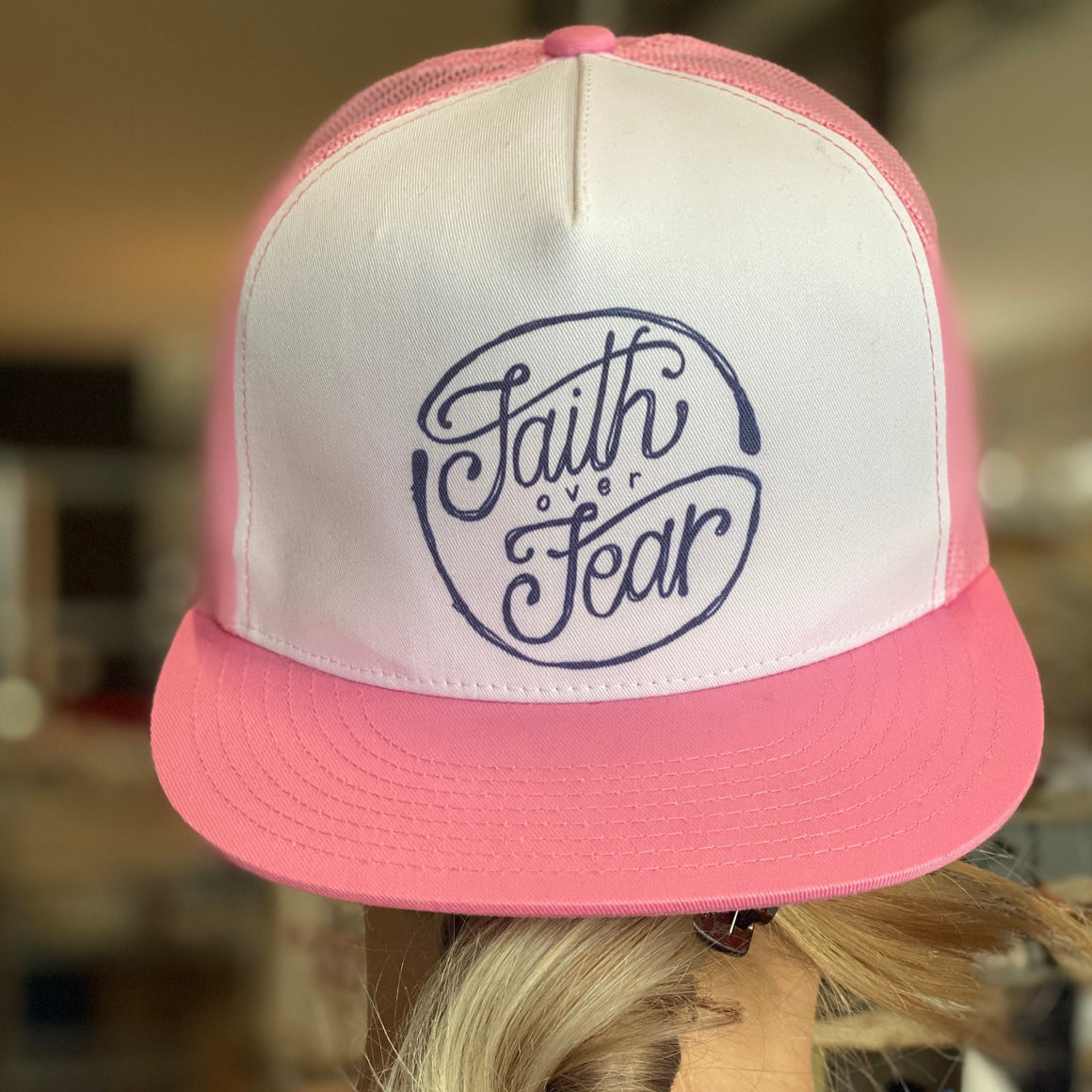 trucker hat | faith over fear