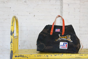 hugh holdall | henry 1o1 | vintage patch bag michelob