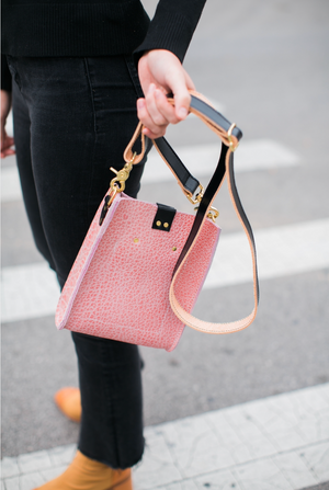 kennedy small crossbody | pink bison