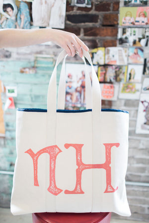 lenny tote | large