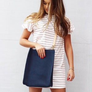 Kennedy Crossbody | navy large
