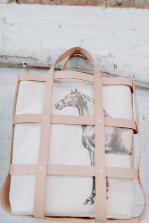 the cage tote | natural