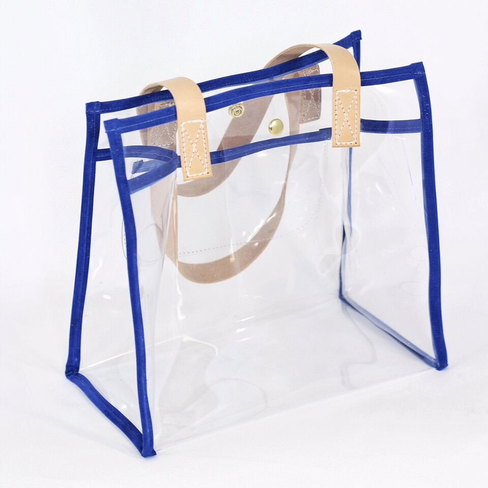 casey tote | clear