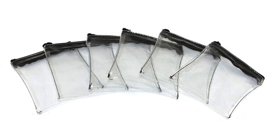 "Zipper Pouches (6 Pack, Size: 4.25""x4"")"