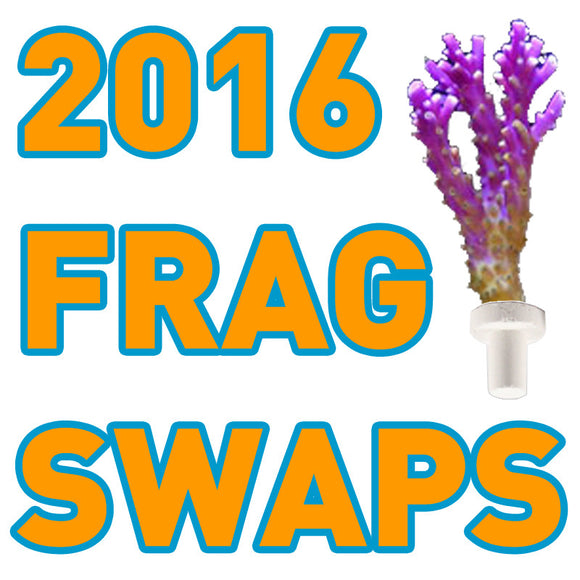 List of Frag Swaps & Aquarium Expos 2016