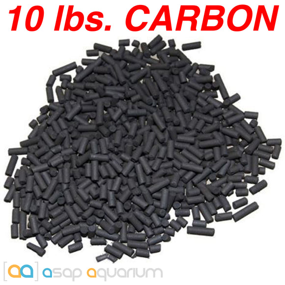 Bulk Aquarium Carbon 10 lbs. Premium Activated Pelletized Carbon