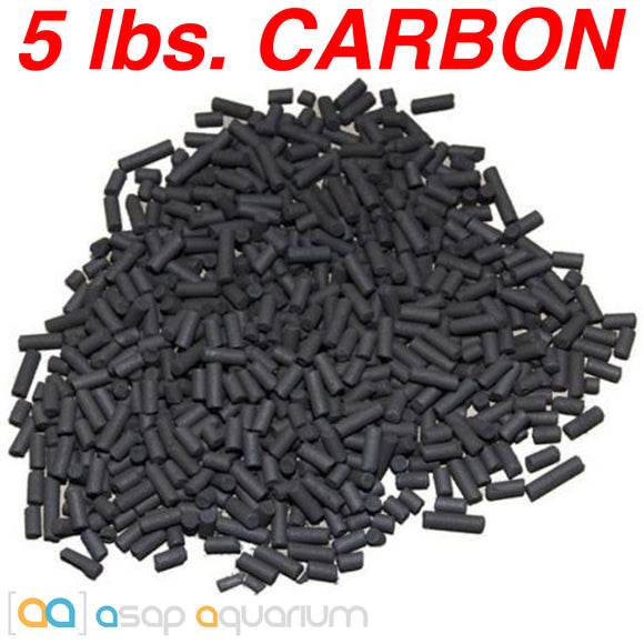 Bulk Aquarium Carbon 5 lbs. Premium Activated Pelletized Carbon