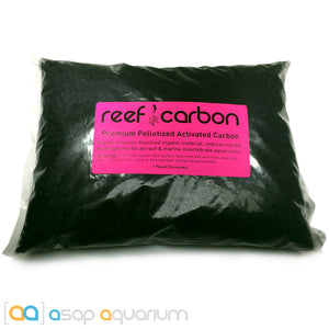 Reef Carbon 16 oz. Premium Activated Pelletized Carbon for Reef and Marine Invertebrate Aquariums - ASAP Aquarium