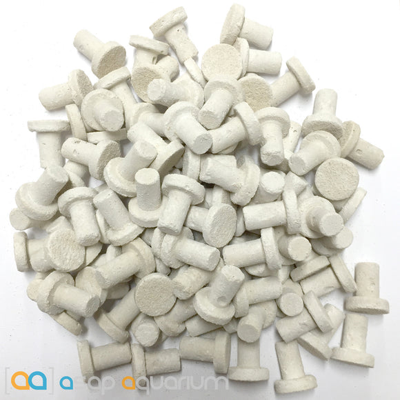 100 Frag Plugs Cured for Live Coral Propagation - ASAP Aquarium