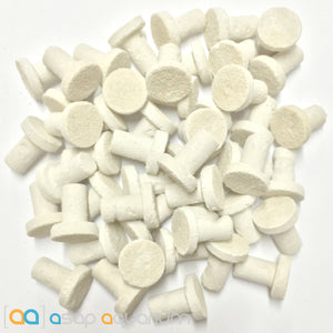 50 Frag Plugs Cured for Live Coral Propagation - ASAP Aquarium