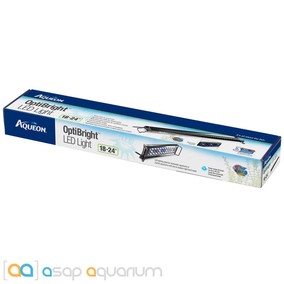 Aqueon OptiBright LED Aquarium Light Fixture 18
