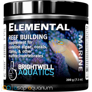 Brightwell Aquatics Elemental Dry Reef Building Supplement 200 grams - ASAP Aquarium