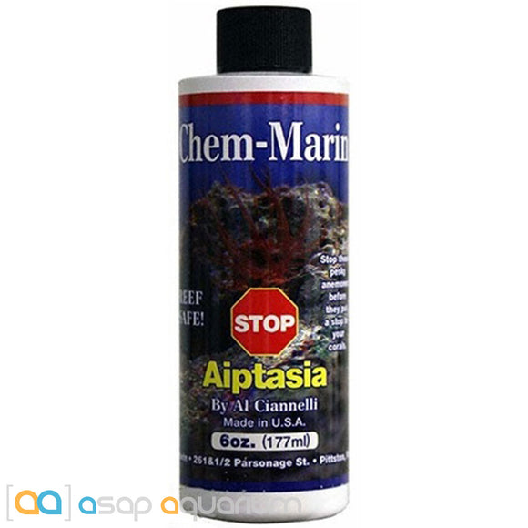 Chem Marin Stop Aiptasia 6 oz Reef Safe Aiptasia Treatment - ASAP Aquarium