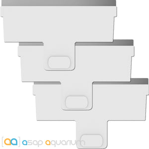 Continuum AquaBlade•M Stainless Replacement Blades 3 pack - ASAP Aquarium