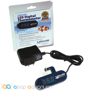 Lifegard Aquatics LED Digital Thermometer - ASAP Aquarium