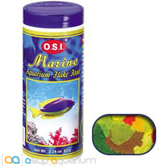Ocean Star International Marine Flake, 2.24 oz - ASAP Aquarium