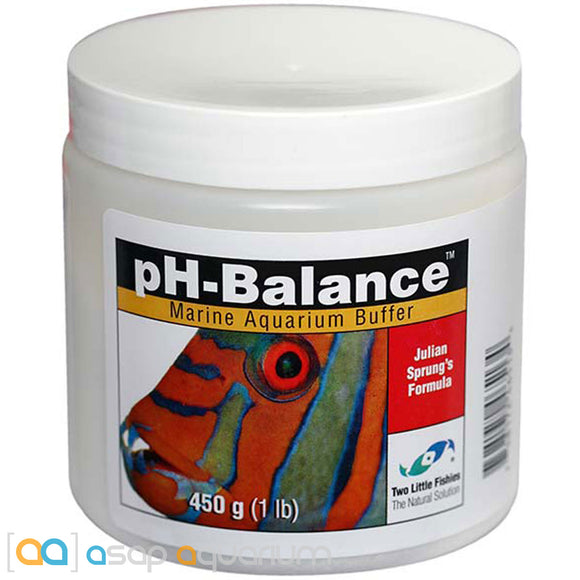 Two Little Fishies pH-Balance 450 grams (1 lb.) Julian Sprung's Formula Powder - ASAP Aquarium