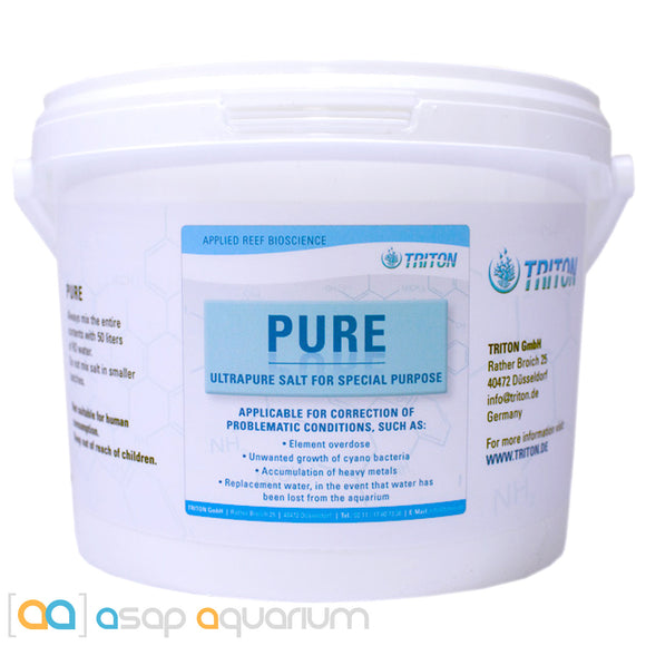 Triton PURE Salt, 2 Liter - ASAP Aquarium