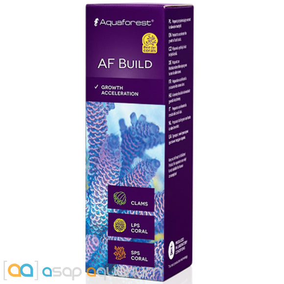 Aquaforest AF Build (Coral B) - 10ml Coral Growth Acceleration - ASAP Aquarium
