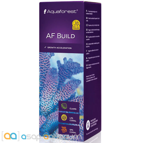 Aquaforest AF Build (Coral B) - 50ml Coral Growth Acceleration - ASAP Aquarium
