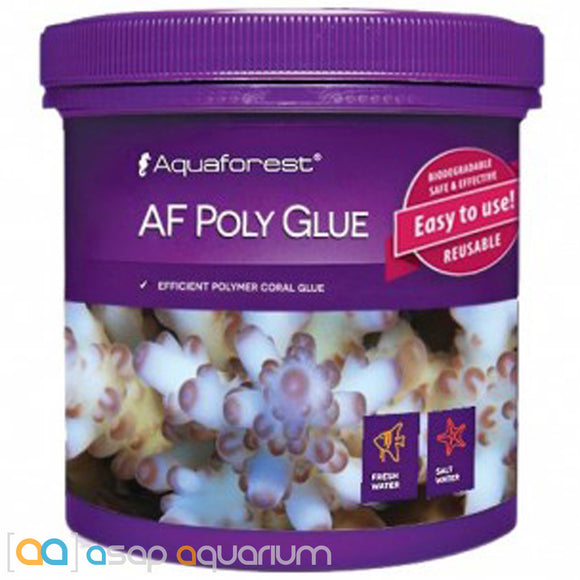 Aquaforest AF Poly Glue - 600ml Coral Polymer Adhesive - ASAP Aquarium
