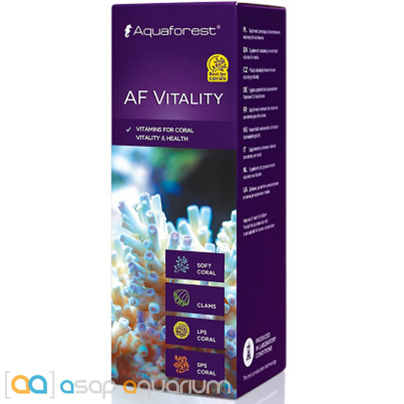 Aquaforest AF Vitality (Coral V) - 50ml Coral Vitamins - ASAP Aquarium
