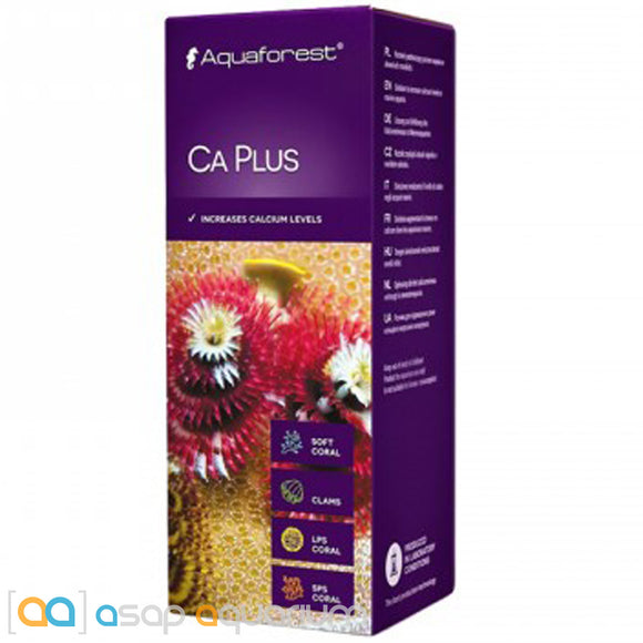 Aquaforest Ca Plus - 150ml Calcium Supplement for Live Coral - ASAP Aquarium