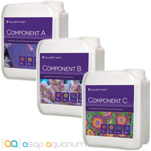 Aquaforest Component ABC Bundle 2 Liters Each - ASAP Aquarium