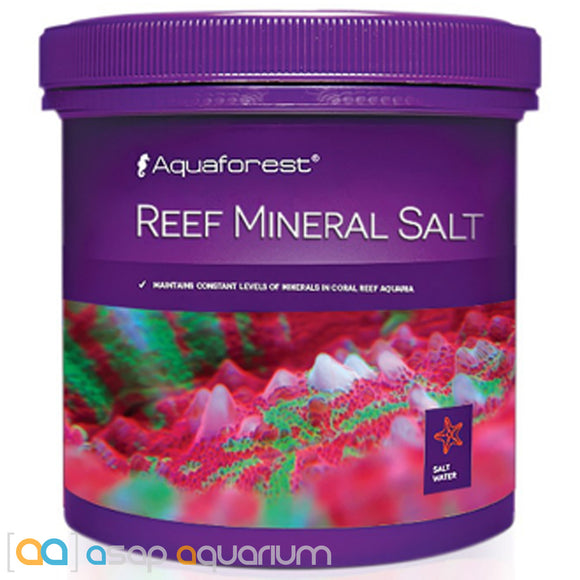 Aquaforest Reef Mineral Salt - 800g - ASAP Aquarium