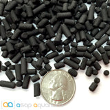 Reef Carbon 8 oz. Premium Activated Pelletized Carbon for Reef and Marine Invertebrate Aquariums - ASAP Aquarium