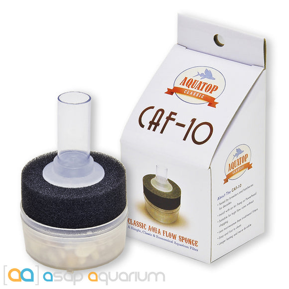 AquaTop CAF-10 Internal Sponge Filter 10 Gal - ASAP Aquarium