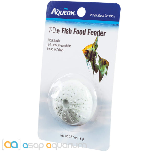 Aqueon 7-Day Tropical Freshwater Fish Food Feeder - ASAP Aquarium