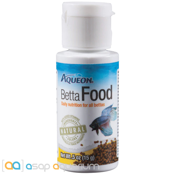Aqueon Betta Fish Food 0.5oz - ASAP Aquarium