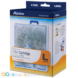 Aqueon QuietFlow Replacement Filter Cartridge Large 6pk - ASAP Aquarium
