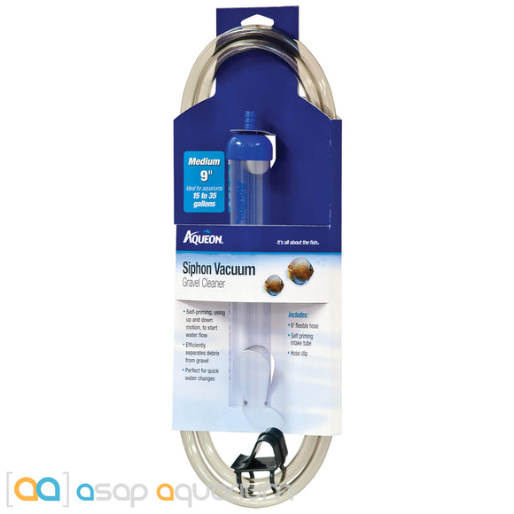 Aqueon Siphon Vacuum Gravel Cleaner Medium - ASAP Aquarium