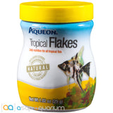 Aqueon Tropical Flakes Fish Food 1.02oz Jar - ASAP Aquarium