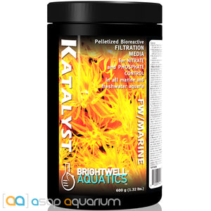 Brightwell Aquatics Katalyst 600 grams Bioreactive Filtration Media - ASAP Aquarium