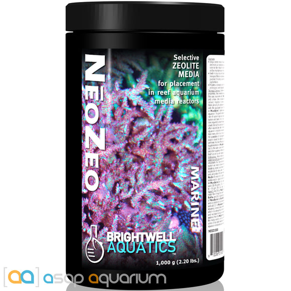 Brightwell Aquatics NeoZeo 1000 grams (2.2 lbs) - ASAP Aquarium