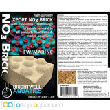 Brightwell Aquatics Xport NO3 Brick - ASAP Aquarium