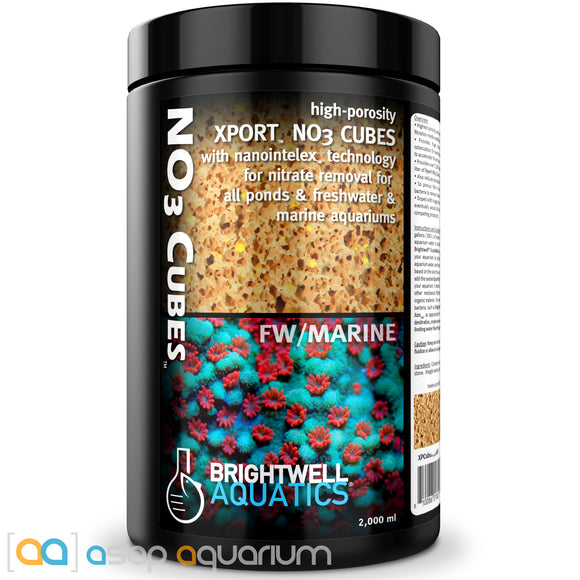 Brightwell Aquatics Xport NO3 Cubes 2000 mL - ASAP Aquarium