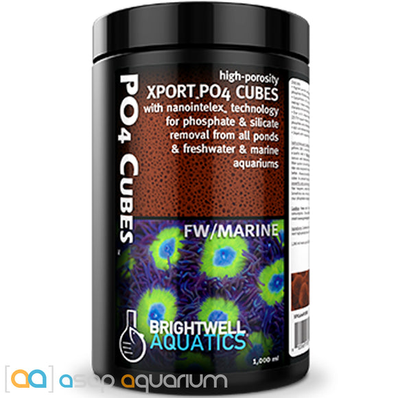 Brightwell Aquatics Xport PO4 Cubes 1000 mL - ASAP Aquarium