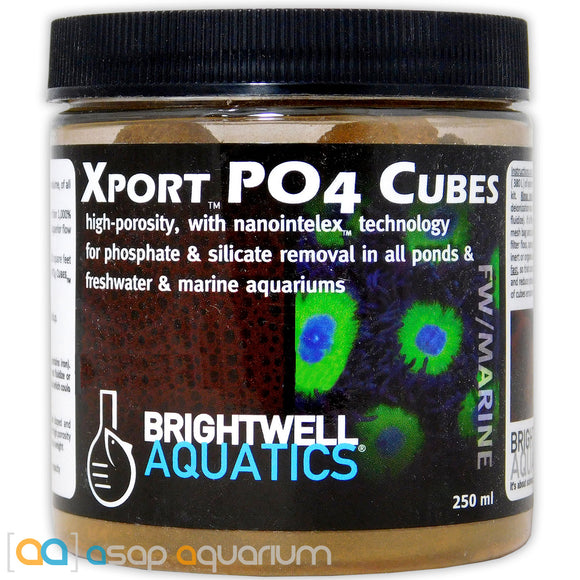 Brightwell Aquatics Xport PO4 Cubes 250 mL - ASAP Aquarium