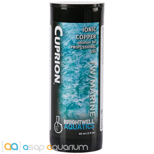 Brightwell Aquatics Cuprion Stabilized Ionic Copper Solution 60 mL (2 oz) - ASAP Aquarium