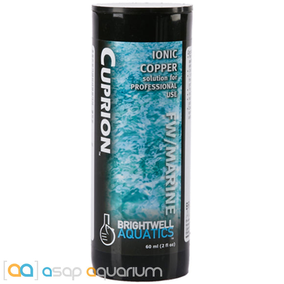 Brightwell Aquatics Cuprion Stabilized Ionic Copper Solution 125 mL (4 oz) - ASAP Aquarium