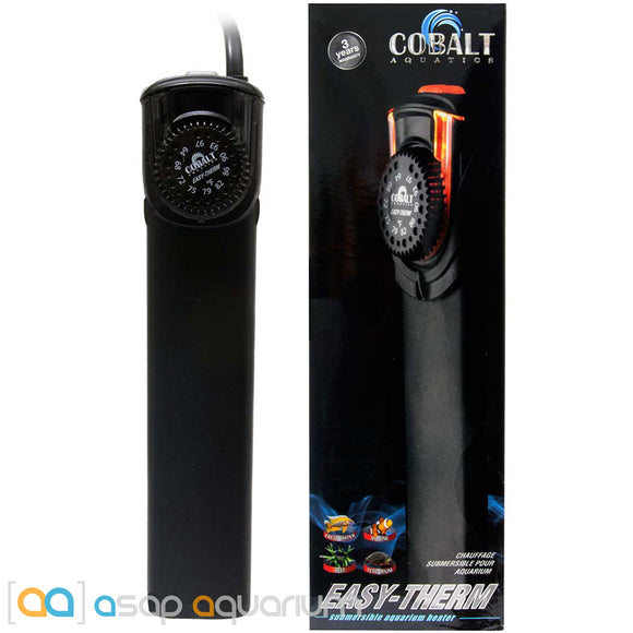 Cobalt Aquatics Easy-Therm 50 Watt Aquarium Heater - ASAP Aquarium