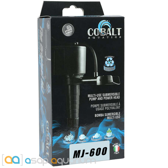 Cobalt Aquatics MJ600 Multi-Purpose Powerhead Pump - ASAP Aquarium